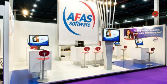 Afas - Standbouw.Amsterdam - portfolio